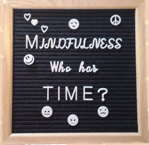 Mindfulness who has time? You do and your should!